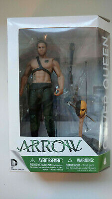 "DC Collectables Arrow (TV Series) Oliver Queen 6"" Action Figure w/original box"