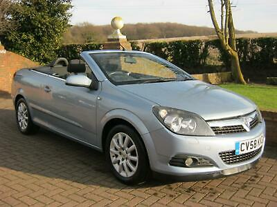 VAUXHALL ASTRA 1.6i 16v SPORT TWIN TOP CONVERTIBLE 2DR 2008 58