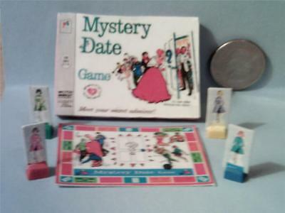 Barbie Doll Sized Mystery Date Board Game