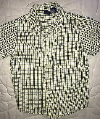 Boys Size 4T Cherokee Short Sleeve Button Up Dress Up pictures School Christmas