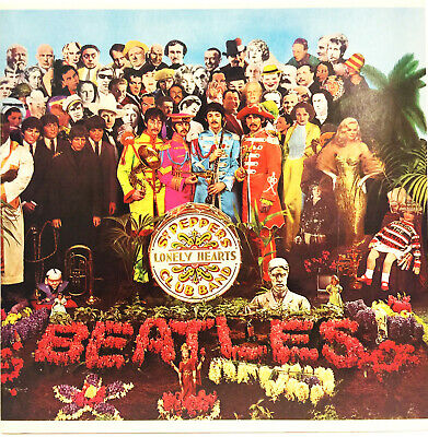 The Beatles 1967 Sgt Peppers Lonely Hearts Club Band 33 Vinyl Lp Record Exlt