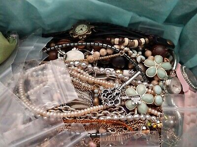 Huge Lot Of Vintage To Now Jewelry