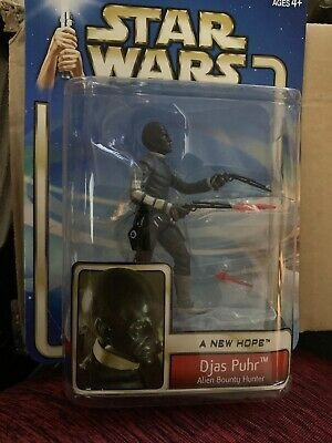 Star Wars A New Hope: Djas Puhr Alien Bounty Hunter