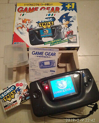 Game Gear console JAPAN + Sonic Tails