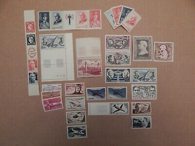 A Collection of Old MNH Stamps from France