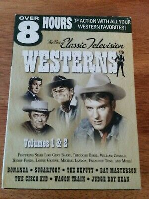 The Best of Classic Television Westerns (DVD, 2004, 2-Disc Set)