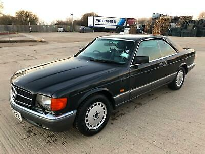 Mercedes-Benz 500 SEC Coupe 1989 Long MOT Immaculate Condition 100% OK !! Rare !