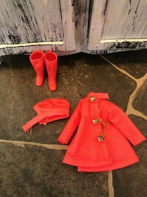 HTF Vintage Topper Dawn Clothes City Slicker Outfit  Rain Hat, Coat and Boots