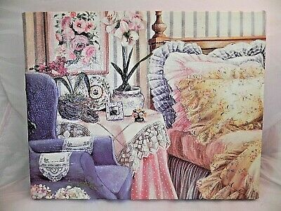 """Susan Rios Lithograph On Canvas """"her Favorite Room"""""""