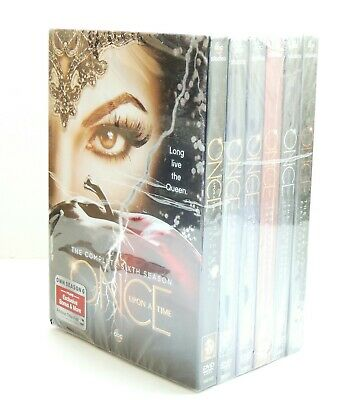 Once Upon a Time Seasons 1-6 DVD Box Sets | Sealed