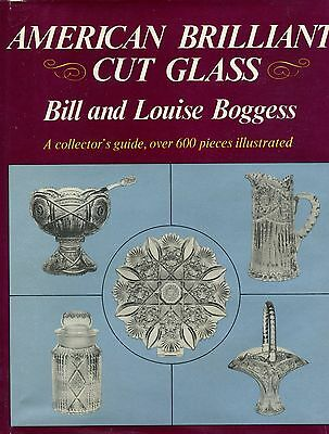 Antique American Brilliant Cut Glass Makers Patterns / Scarce Illustrated Book