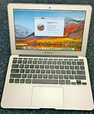 Macbook Air 11-inch i5 1.4Ghz 4GB RAM 128GB Early 2014 A1465