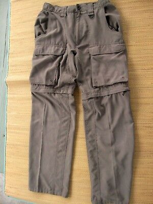 Boy Scouts Of America Official Uniform Cargo canvas switchback Pants Small Relax