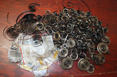 Lot of Vintage Clock and Alarm Main Spring  8311