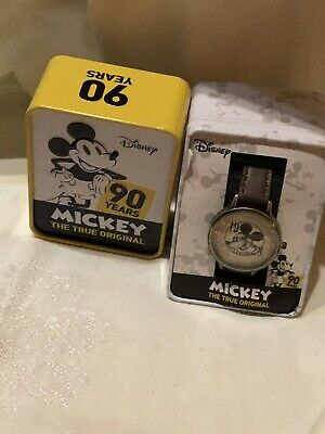 Watches, Timepieces new Disney Mickey Mouse 90th Anniversary Commemorative Pocket Watch