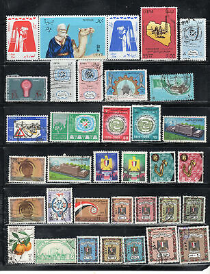 Libya  Libia  Stamps Canceled Used   & Mint Hinged  Lot 39325