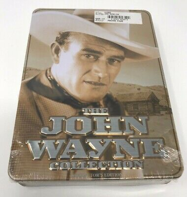 The John Wayne Collection DVD Collectors Edition Tin Box 6 Full Length - NEW