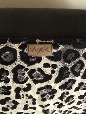 Chekoh Leopard Print Wrap Baby Carrier