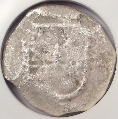 1556-1622 Mexico 4 Reales Coin (4R) Sao Jose Shipwreck - NGC Certified!
