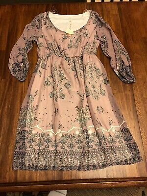 Pink Blush Dress Maternity Size S NWT Gorgeous