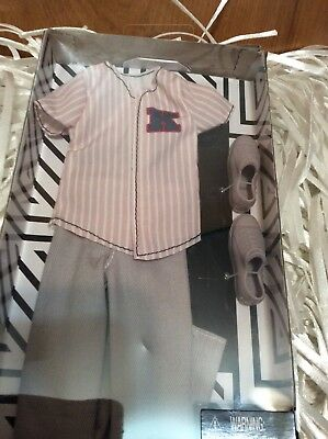 Barbie Ken Clothes Baseball Jersey, Sneakers and Pants New