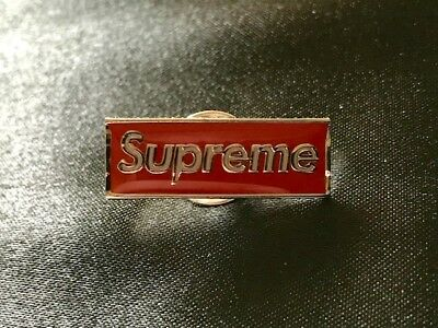 A BATHING APE (BAPE X Supreme) SUP Backpack Lapel Pin - $10 50