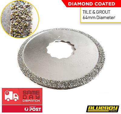 Diamond Multi-tool Blade | BLUEBOY | Oscillating Tile Grout Removal |