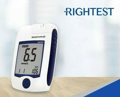 Bionime - 100 Meters - Rightest glucose meter GM300