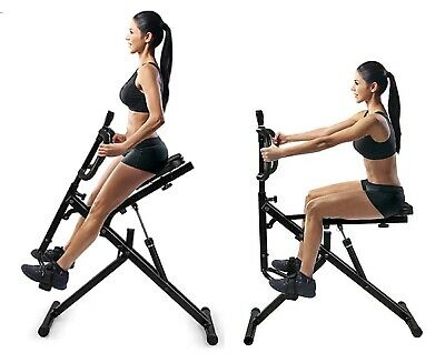 Power Rider Total Crunch AB Crunch Body Fitness Exercise Squat Cardio Workout