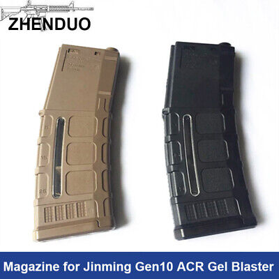 Original Nylon Magazine for Jinming Gen10 ACR Gel Ball Blaster Toy Gun Parts MGP