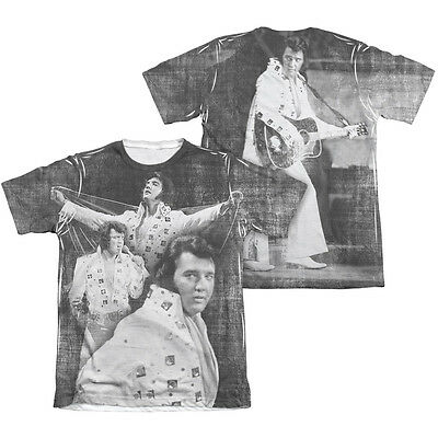 Elvis Presley T-shirt White  Men S-234XL Z419