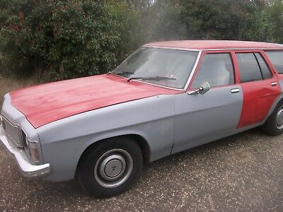 Holden Kingswood Station Wagon HX 1976 - No Reserve