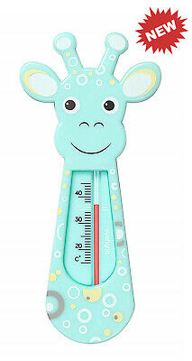 Baby Thermometer BabyOno Baby Safe Floating Bath Thermometer - GIRAFFE Turquoise