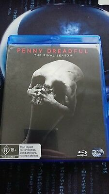 Penny Dreadful : Season 3 (Blu-ray, 2016, 4-Disc Set)
