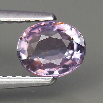 UNHEATED 1.03ct.TANGA SAPPHIRE VIOLET PINK COLOR OVAL SHAPE NATURAL GEMSTONE