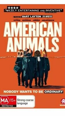 American Animals Dvd, New & Sealed, 2019 Release, Free Post