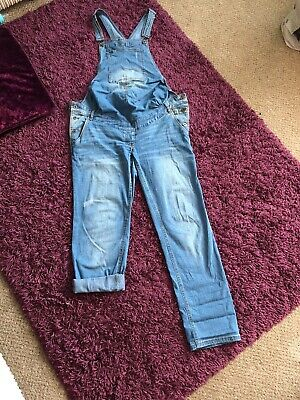 maternity dungarees size 18