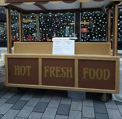 Large Catering / Market Cart/stall used for Burgers Hotdogs etc,
