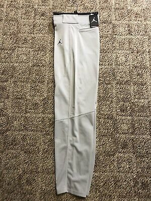 b2eb61b42c368a NIKE (AIR JORDAN) RE2PECT Men s Gray Baseball Pants (Size Large) NWT ...