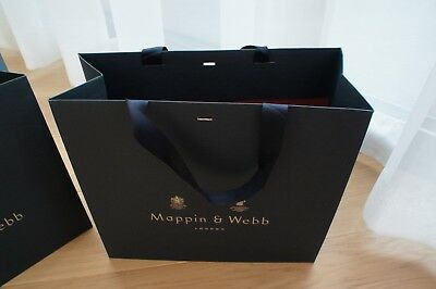 Mappin & Webb paper carry bag
