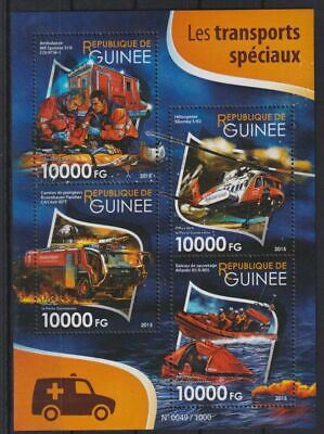 W611. Guinea - MNH - 2015 - Transport - Recovery
