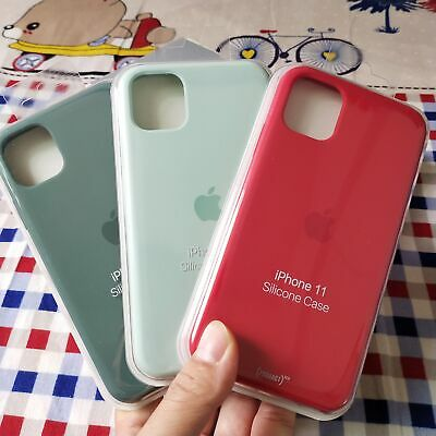 Genuine Original Hard Silicone Case Cover For iPhone 6s/7/8 + X/XS Max XR Retail