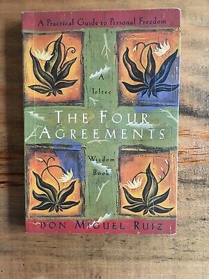 NY Times Bestseller The Four Agreements Paperback by Miguel Ruiz