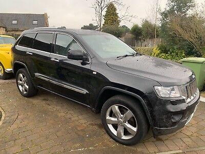 f86be866ac Spares repair 2012 Grand Cherokee 3.0V6 diesel Overland runs and starts  OFFERS !