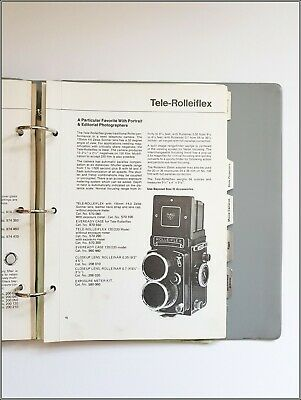 Rollei Sales Catalogue, A4 Format, C 1970s