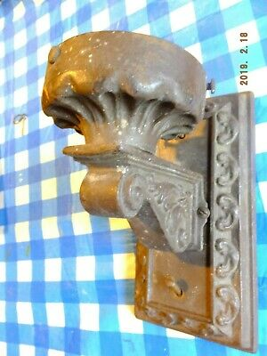Vintage Antique Cast Iron Outdoor Porch Wall Sconce light gothic