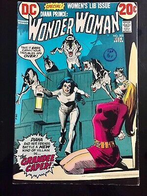 dc Comics WONDER WOMAN #203 1972 WITH WHITE PAGES!