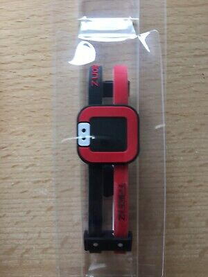 Trion:Z Duo Loop Black & Red Polarised Ionic Bracelet Size Small Brand New
