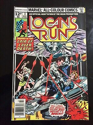 Marvel Comics Logans Run #3 1976