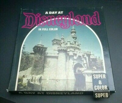A Day at Disneyland super 8 Movie